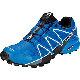 Salomon Speedcross 4 GTX Shoes Men sky diver/indigo bunting/black